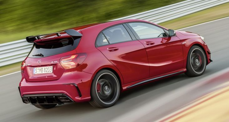 Mercedes-AMG A 45 facelift gets 381 hp and 475 Nm Image #354928