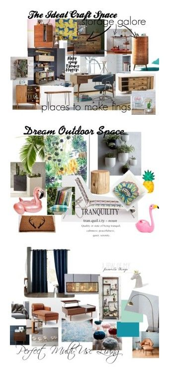 """Dream Rooms with West Elm"" by anyamarco on Polyvore featuring dreamwestelm, interior, interiors, interior design, home, home decor, interior decorating, West Elm and living room"