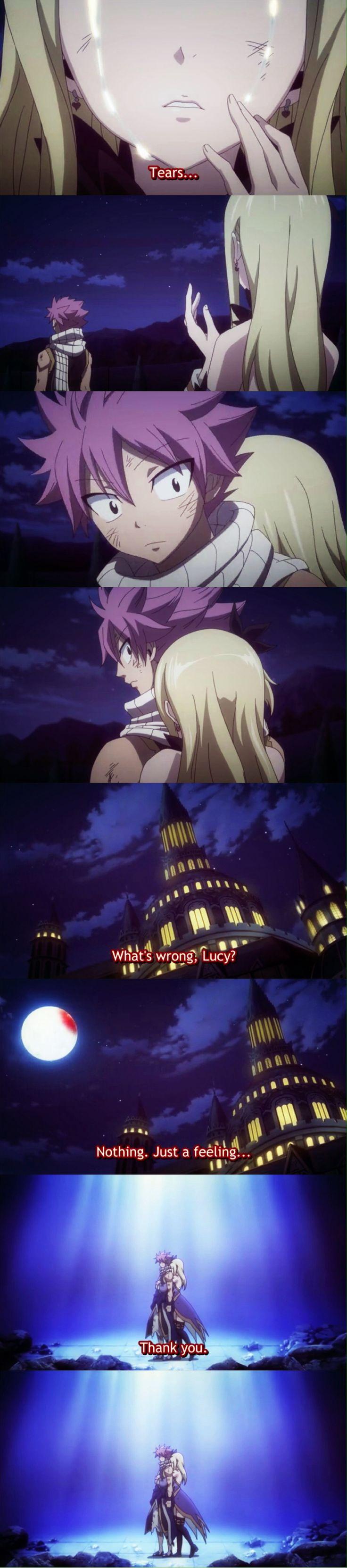 NaLu: fairy tail episode 198
