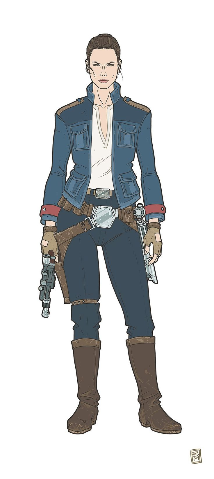 Rey redesign - Star Wars: The Force Awakens