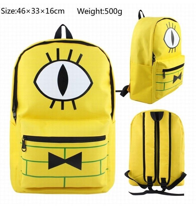 Gravity Falls Backpack Bill Cipher School Bag Shoulder Bag Student Bag Cosplay | Clothing, Shoes & Accessories, Unisex Clothing, Shoes & Accs, Unisex Accessories | eBay!