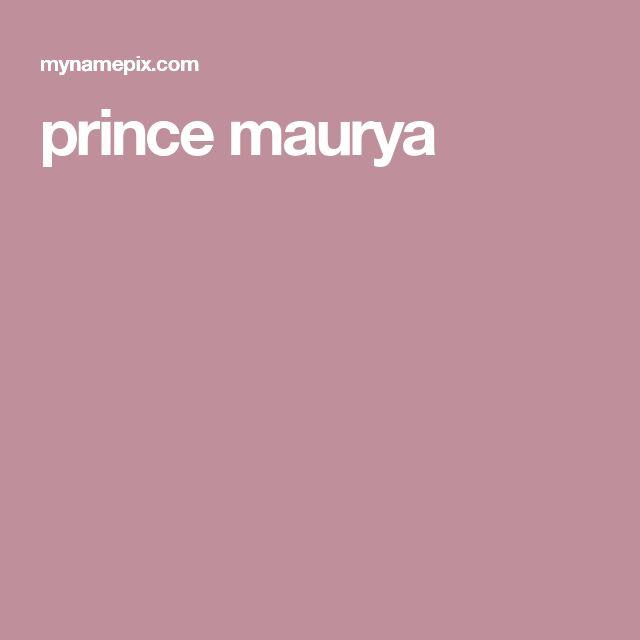 prince maurya