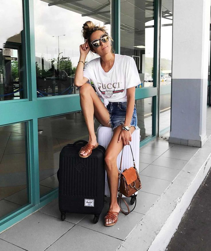 creative travel outfits summer 9