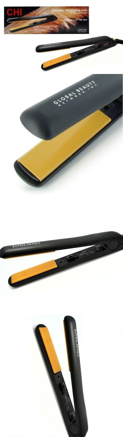 Straightening and Curling Irons: New Chi Pro 1 Ceramic Flat Iron Hair Straightener Hairstyling Professional Iron -> BUY IT NOW ONLY: $34.95 on eBay!