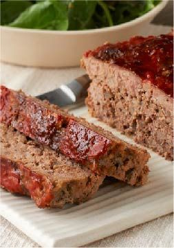A.1. Meatloaf – BBQ meatloaf is always a fan favorite, but why not treat your tastebuds to something different? Try this beefy, tomato-y recipe made with A.1. Steak Sauce.