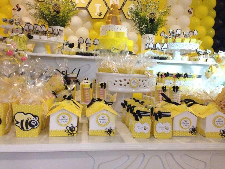 scrap-festa  Tema  abelhinha