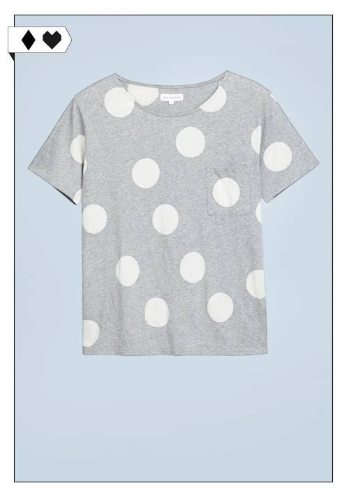 Punkteshirt (Chinti and Parker): 100% Baumwolle. Fair hergestellt in Europa. VEGAN/SOCIAL/*€* →
