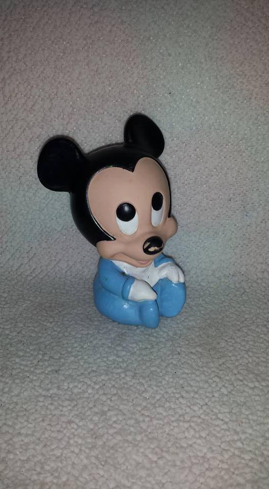 Vintage Baby Mickey Squeak Toy, Rubber Baby Mickey Squeak, Mickey ...