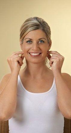 Mit Zupfmassage das Gesicht straffen – Übungen