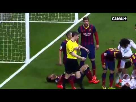 Pepe Vs Neymar Vs Busqets Vs Fabregas at el clasico - YouTube