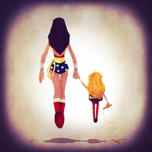 I will be the kind of woman that I want my daughters to be.