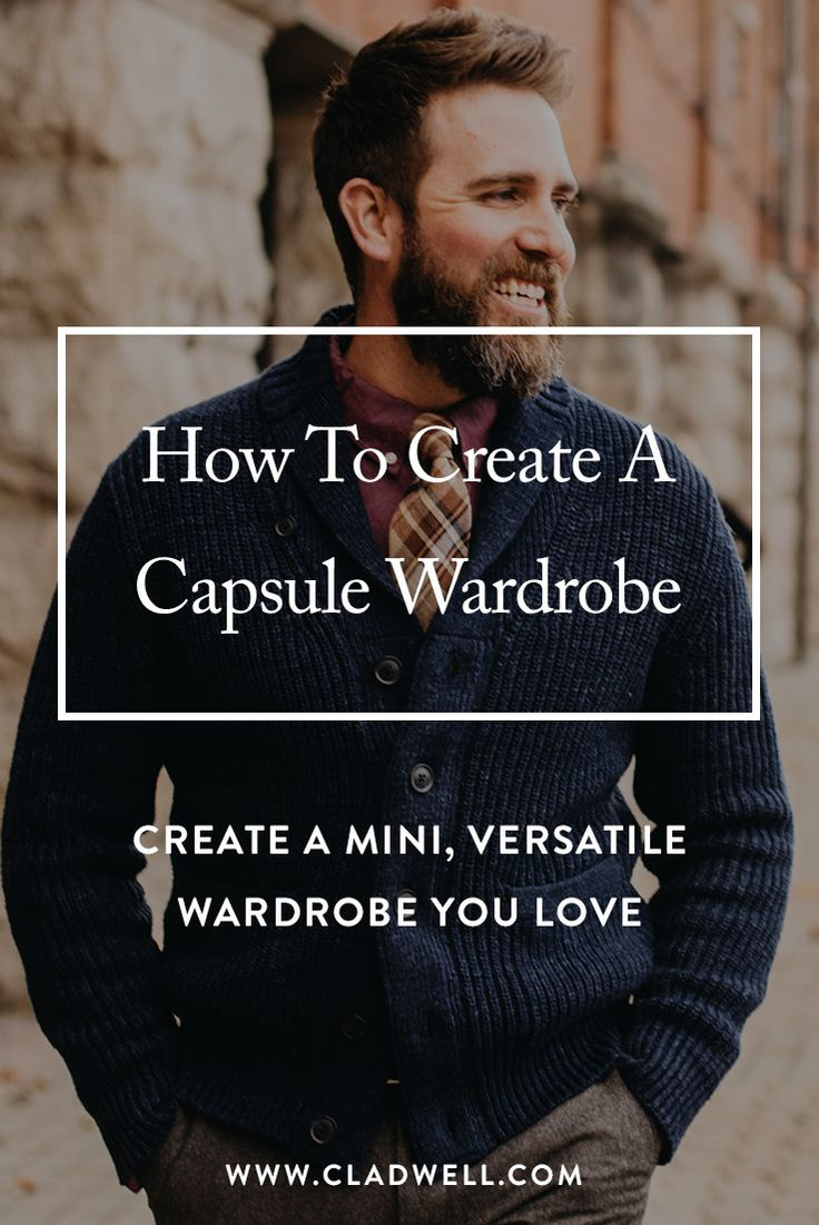 Want to dress better, but don't have the time or money? Join Cladwell to create your personalized wardrobe. Check off the items you own and we'll recommend the clothes what you need to make it complete. Personal style for less than an Uber.