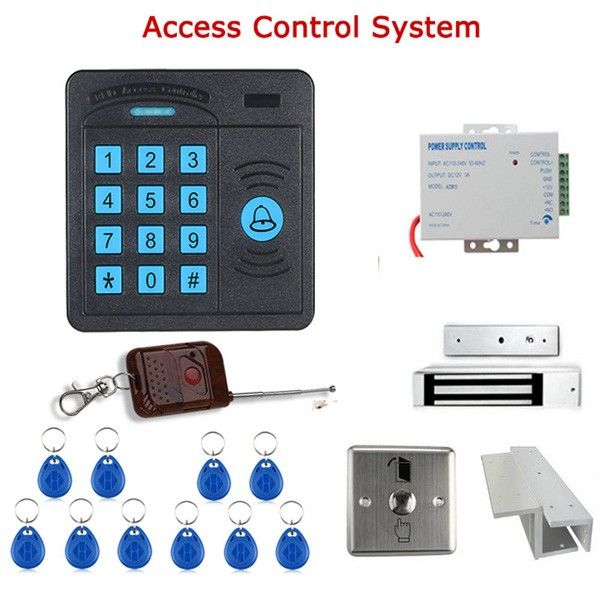 Description:   ENNIOSY5100R-ADoor Access Control Controller ABS Case RFID Reader Keypad Remote Control 10 ID Cards Magnetic Lock  Features:  Classical appearance with useful function.  High quality and high security.  Designed for home and office.  Sensitively and response quickly.  Full programming from the keypad.  Easy to install and program.  Support 2000 standard users.  Fast operating speed, <20ms with 2000 users.  Built-in proximity card