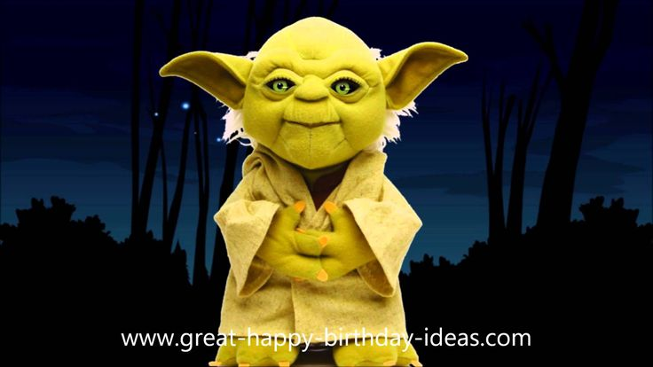 Yoda Sings Happy Birthday to YOU (It's Funny!)