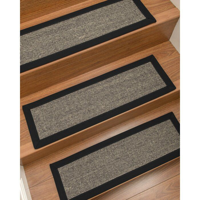 Bafford 100 Natural Fiber Stair Tread In 2020 Stair Treads Carpet Stairs Stair Carpet Protector