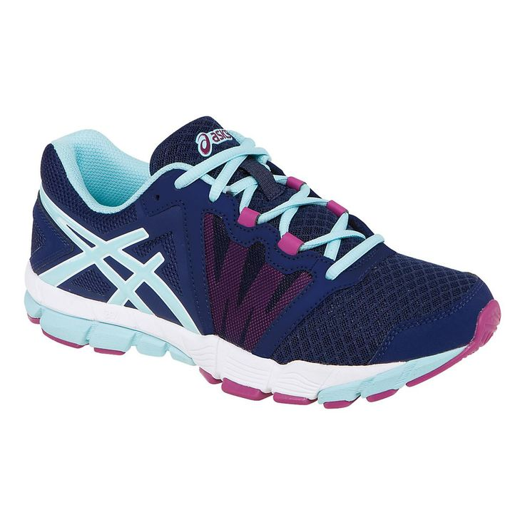Enjoy the best of both worlds all wrapped up into one fabulous shoe with the Womens ASICS GEL-Craze TR, the perfect blend of a top running shoe and a well-defined training shoe