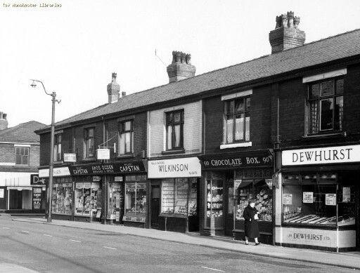 Moston Lane 1959.