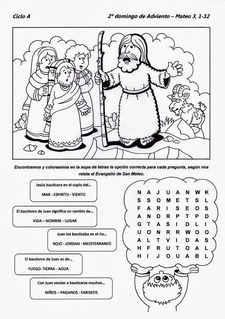 El Rincón de las Melli: 2º domingo de Adviento - CICLO A