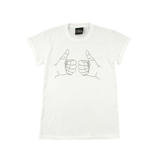 "MAISON LABICHE T-Shirt ""Terry - Hands"""