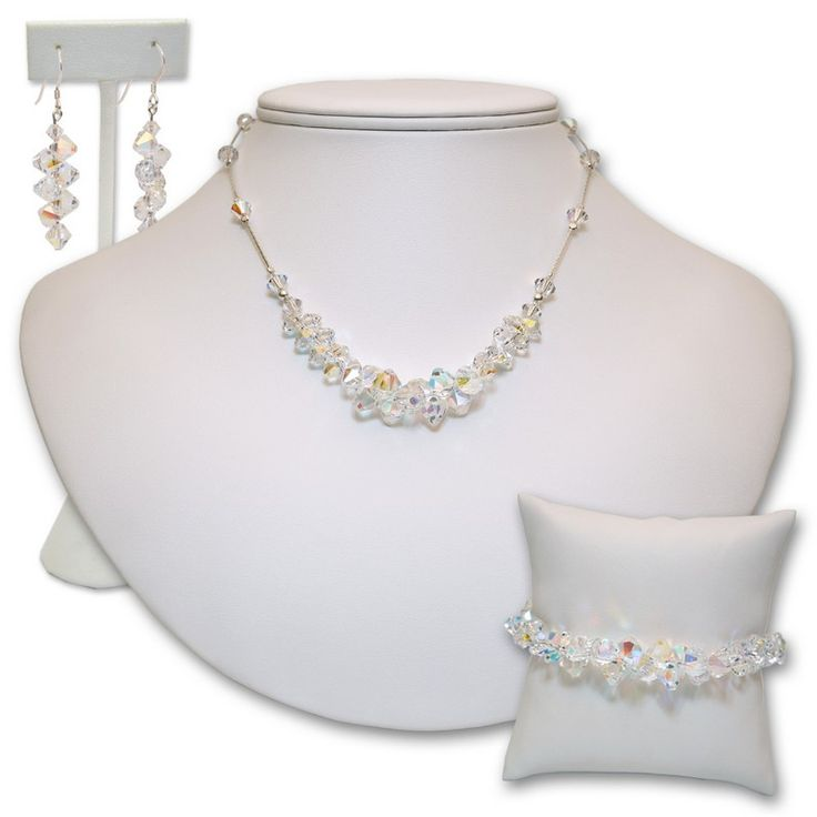 Crystal Wedding Gift: 17 Best Images About Swarovski Crystal Bridal Jewelry On