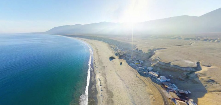 Balneario Hornitos, 90 km de Antofagasta
