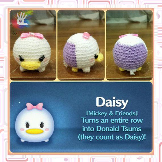 Tsum Tsum Daisy Pattern por uDezignCrafts en Etsy