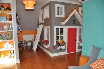 Kids' Playroom - contemporary - Kids - bbbmunro