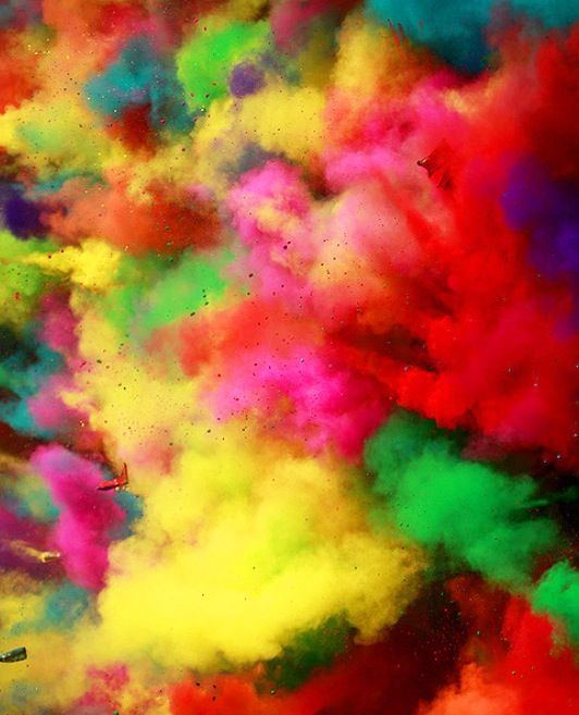 Holi Festival in India. Win a trip there with our #EscapeNow competition http://hwrld.cm/AwesomeEscape CULTURAL IDENTITY
