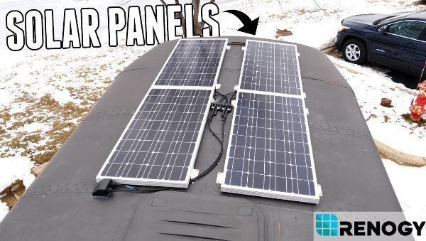 Adventure Bus Gets Solar Panels Solar Panels Best Solar Panels Solar