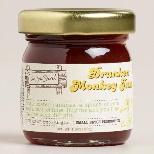 One of my favorite discoveries at WorldMarket.com: Jam Stand Drunken Monkey Jam