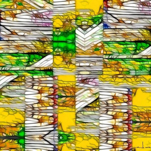 Brazil  Digital Artwork over original photo 50 x 50 cm  rcn