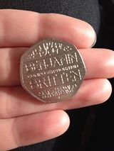 Maria Gamble I've had 4 in my change this week !  The Benjamin Britten 50p coin