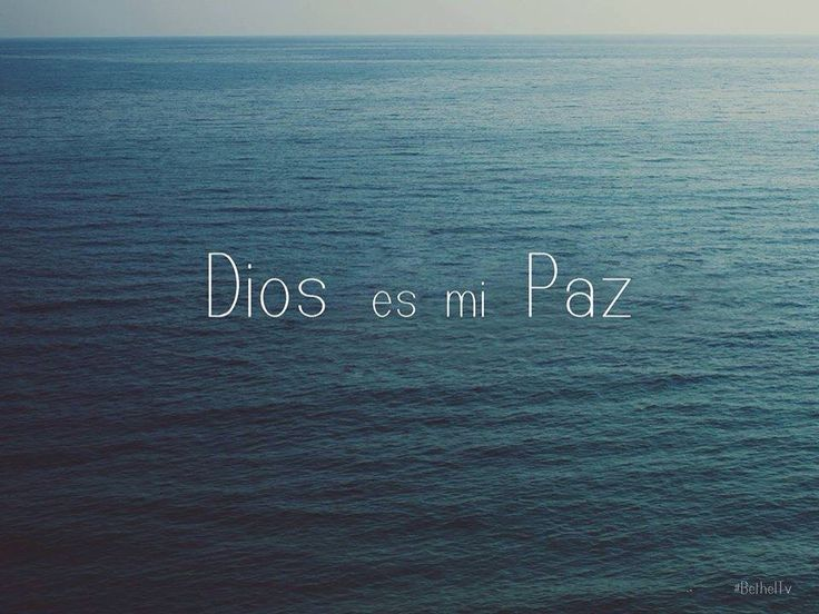 God is my Peace