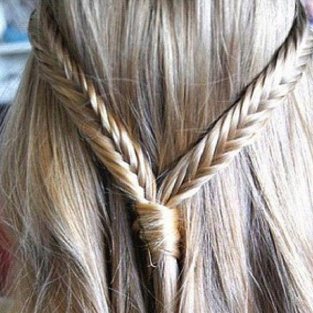 fishtail braid !