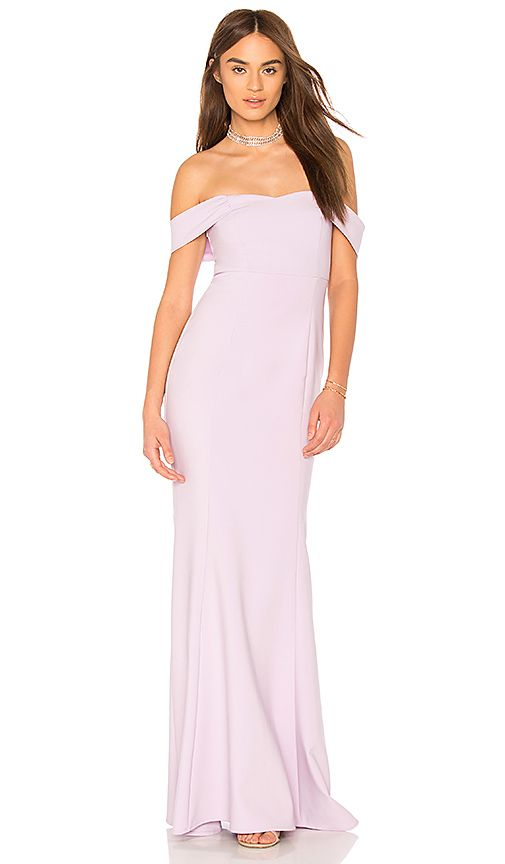 632b979640e LIKELY x Revolve Bartolli Gown in Orchid Bloom