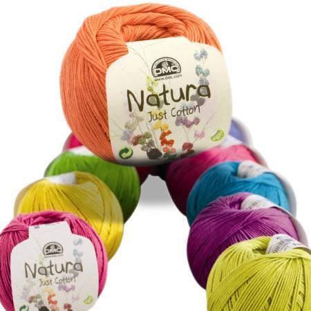 Le célèbre coton Natura de DMC pour crochet