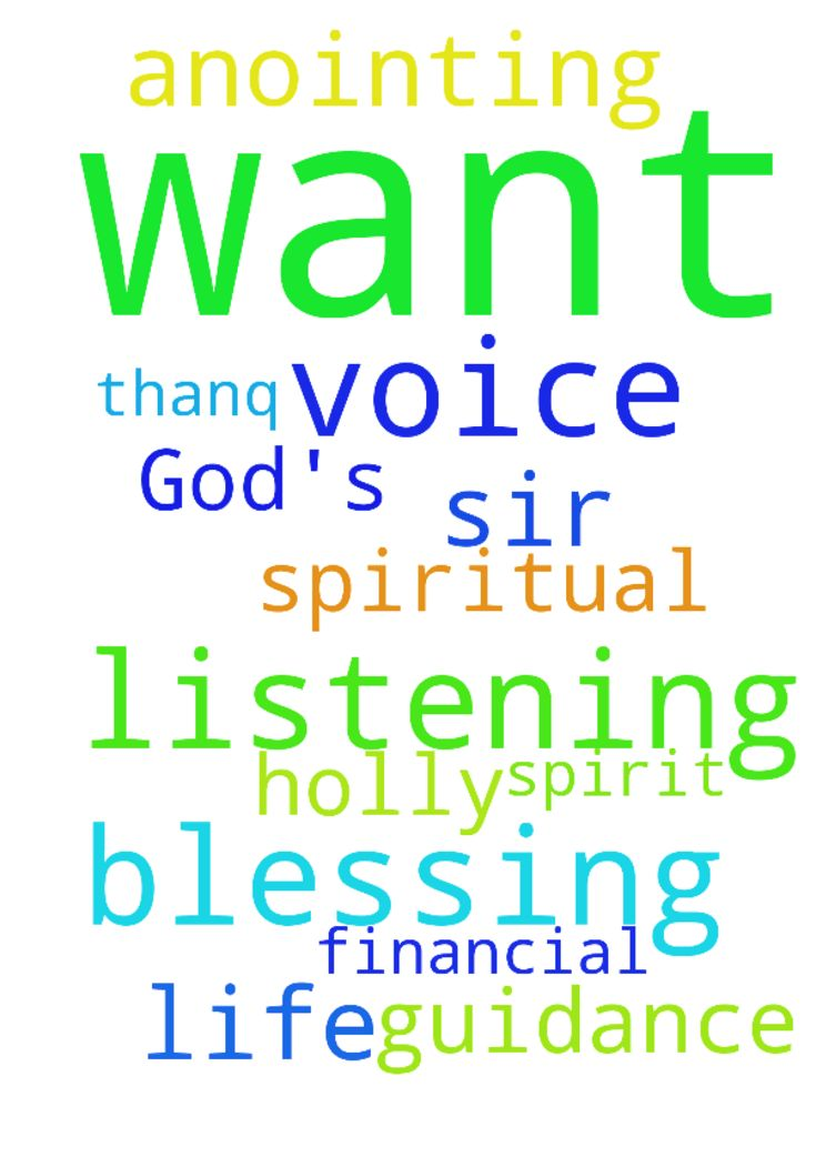 I want listening God's voice and I - I want listening Gods voice and I want anointing prayer life and I want holly spirit God guidance and spiritual blessings and financial blessing thanq sir Posted at: https://prayerrequest.com/t/DFT #pray #prayer #request #prayerrequest