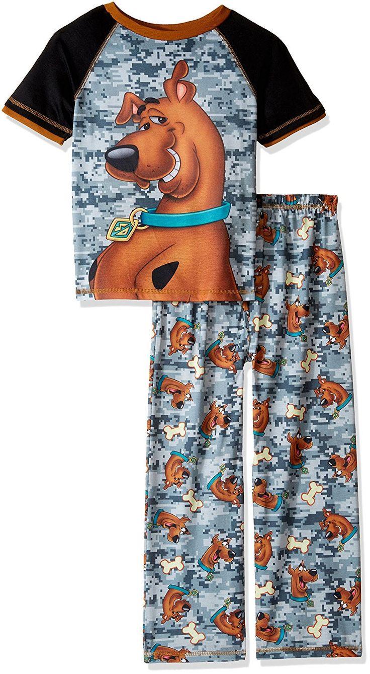 Scooby Doo Big Boys' 2pc Sleepwear Set