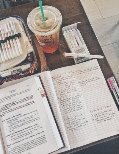 studynowsandee: Early Sunday morning at Starbucks. My short break is over. Back to reality.