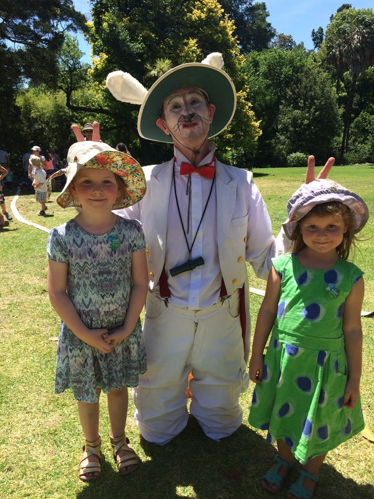 The Wind in the Willows at the RBG Melbourne - School holiday activities, via Little Melbourne.