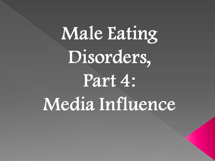 the media effect male body image Despite a belligerently hyper-sexualized media and our collective understanding that body image issues affect everyone, the effect on men has been largely ignored and.