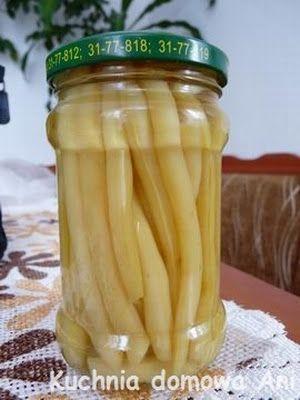 Kuchnia domowa Ani: Fasolka szparagowa do słoików