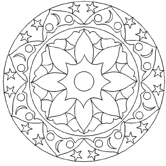 - Stress Relief Coloring Pages