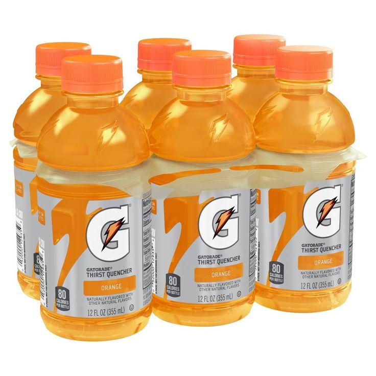 Gatorade Orange Sports Drink - 6pk / 12 fl oz Bottles