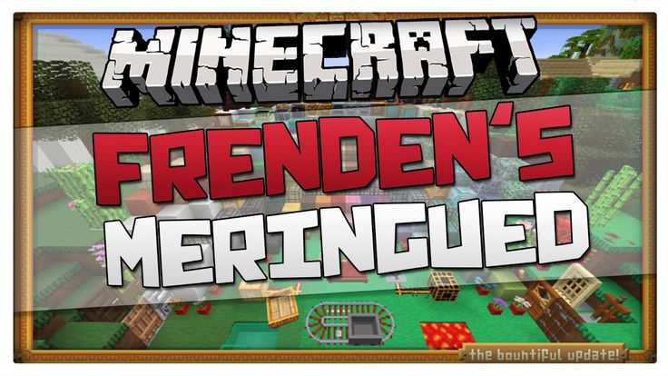 Minecraft 1.8.1 Texture pack - Frenden's Meringued Cartoon Pack (For 1.8...