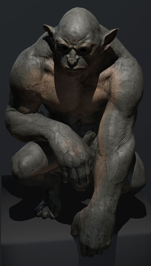 Gargoyle by Adam Scott | Creatures | 3D | CGSociety