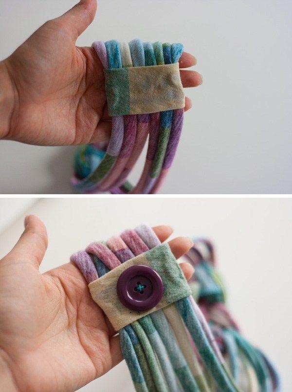 Tシャツから作る編みヘアバンドの作り方 Diyのヘッドバンド