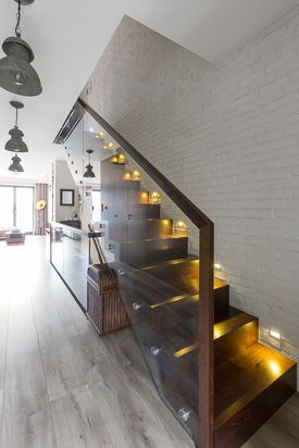 Podswietlane Schody Home Decor Home Stairs