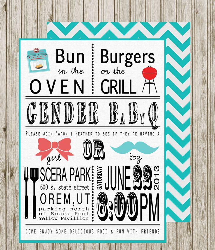 25+ best ideas about gender reveal invitations on pinterest, Party invitations