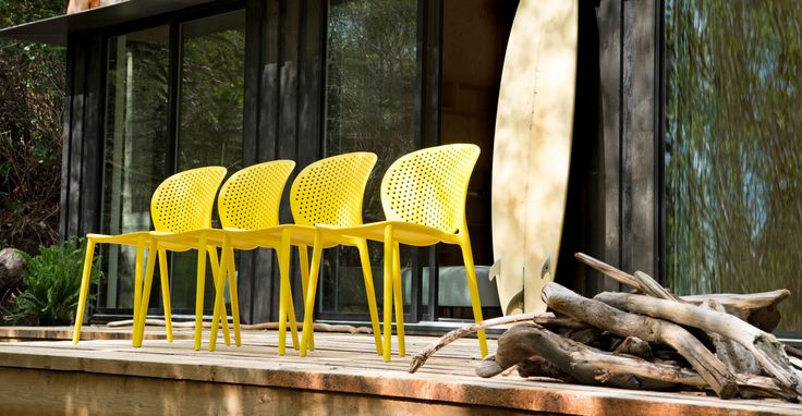Dot Sun Yellow Dining Chair - Dining Chairs - Article | Modern, Mid-Century and Scandinavian Furniture